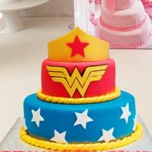 Gâteau Wonderwoman Couronne