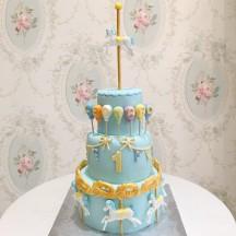 Gâteau Carroussel Garçon