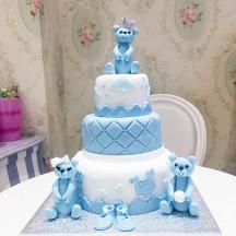 Gâteau Oursons couronne