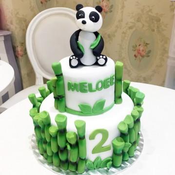 Gâteau Panda Sculpture