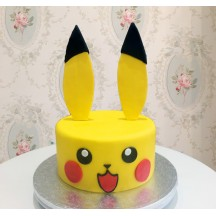 Gâteau Tête Pikachu