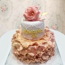 Gâteau Ballerine et Roses