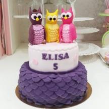 Gâteau Petites Chouettes