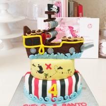 Gâteau Pirate PM