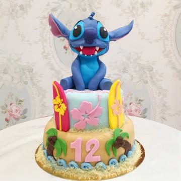 Gâteau Stitch