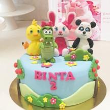 Gâteau Titounis