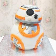 Gâteau BB8 3D