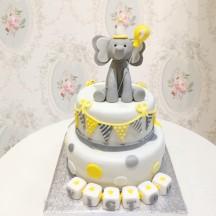 Gâteau Elephant Ballon