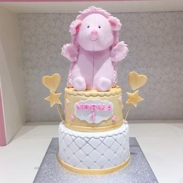 Gâteau Peluche Hérisson