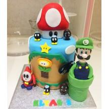 Gâteau Luigi et Champignon