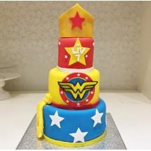 Gâteau WonderWoman GM