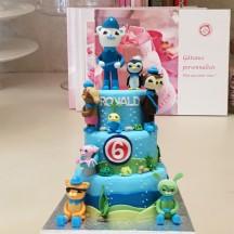 Gâteau Octonautes Sculpture