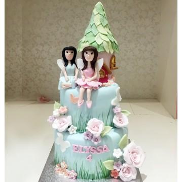 Gâteau Maison des Fées