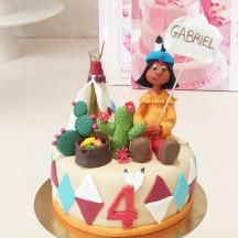 Gâteau Yakari