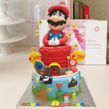 Gâteau Mario Odyssey
