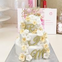 Gâteau Descente de Roses
