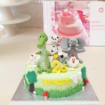 Gâteau Animaux Mix