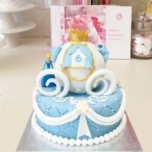 Gâteau Cendrillon Carosse