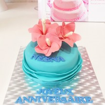 Gâteau Voyage Fleuri