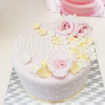Gâteau Ecrin de Fleurs
