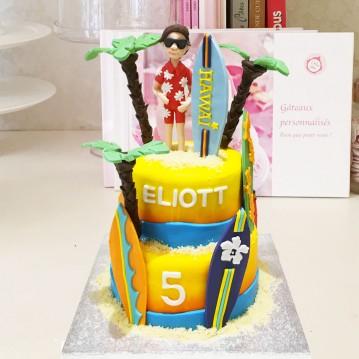 Gâteau Surf PM