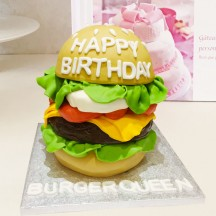 Gâteau Burger