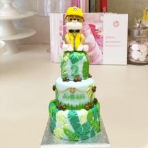 Gâteau Rubble Pat Patrouille