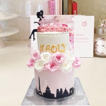 Gâteau Parisienne Chic