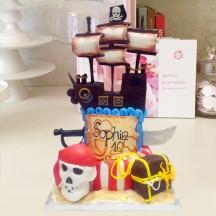 Gâteau Pirate Caraïbes 2