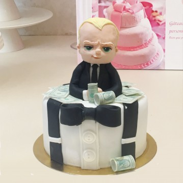 Gâteau Baby Boss