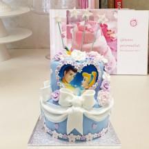 Gâteau Cendrillon et Prince