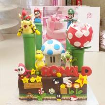 Gâteau Mario Bros Sculptures GM