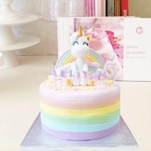Gâteau Licorne Ailee