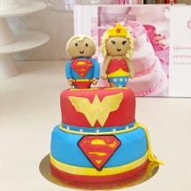 Gâteau Super Jumeaux