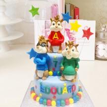 Gâteau Alvin et les Chipmunks