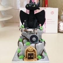 Gâteau Dragons Krokmou GM