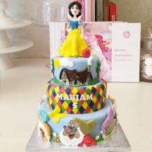 Gâteau Blanche neige et nains