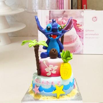 Gâteau Stitch et ananas