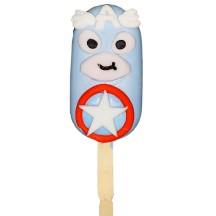 Popsicle Captain America