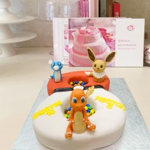 Gâteau Letter Cake Pokemon