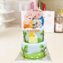 Gâteau Peppa Pig Pic-Nic