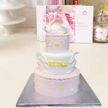 Gâteau Cygne et Couronne