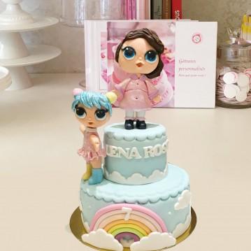 Gâteau LOL sculptures