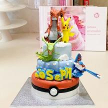 Gâteau Pokemon Sculptures GM