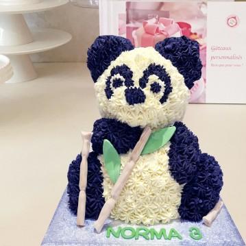 Gâteau Panda 3D