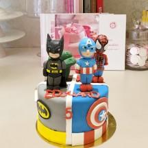 Gâteau Avengers Sculpture
