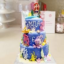 Gâteau La petite sirene GM