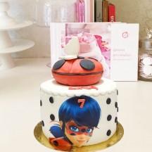 Gâteau Miraculous yoyo et impression