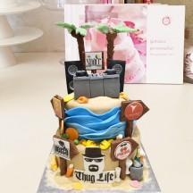 Gâteau Ibiza