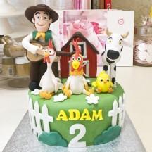 Gâteau Ferme et Fermier
